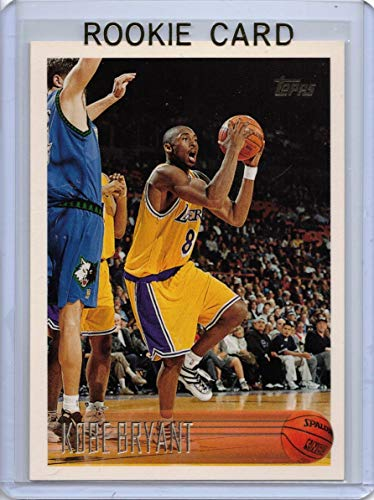1996-97 Topps #138 Kobe Bryant Lakers Rookie Card- Mint Condition Ships in a New Holder