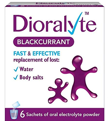 Dioralyte Blackcurrant Medication, 6-Count