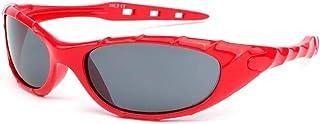 Eye Wear - Gafas de sol para niño rojo deportivas Tak de 6 a 12 años – niño