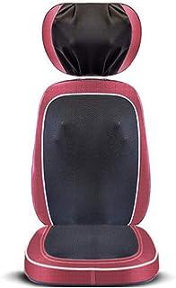 Shiatsu cojín de masaje, Masaje Silla eléctrica del amortiguador de asiento, cálido masaje de amasamiento Shiatsu Masaje Comprimir for Deep Relief muscular, regalo