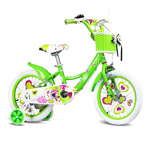 Great Features Of FJFJFJ Children's Bicycle 16/14/12/18 Inch Girl Baby Bicycle 2-8 Years Old Child G...