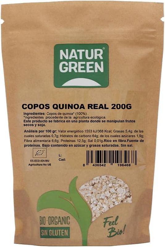 COPOS DE QUINOA REAL BIO 200 GR