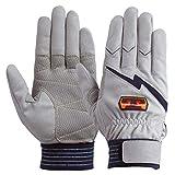 ユアサグローブ トンボレスキュー 人工皮革手袋 Lサイズ E125NV-L 点検整備・ 一般作業・レジャー・スポーツ