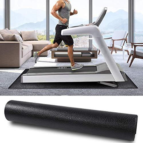 Exercise Equipment Mat, Treadmill Mat Fitness Equipment Mat Floor Protector Carpet Protective Flooring Home Gym Exercise Machines Mat for Treadmills, Exercise Bikes, 71x30in