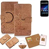 K-S-Trade 360° Cover cork Case for Phicomm Clue 2S |