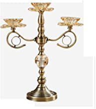 Candlestick Holders European Style Home 3 Arm Candlestick Decoration Table Decoration Romantic Candlelight Dinner Candle H...