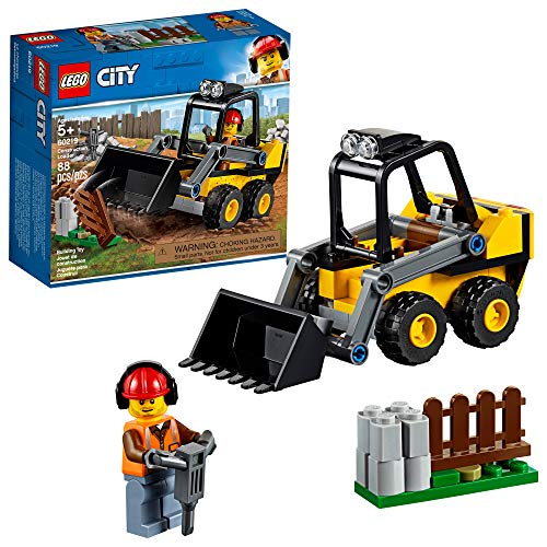 LEGO City Great Vehicles Construction Loader 60219 Building Kit 88 Pieces