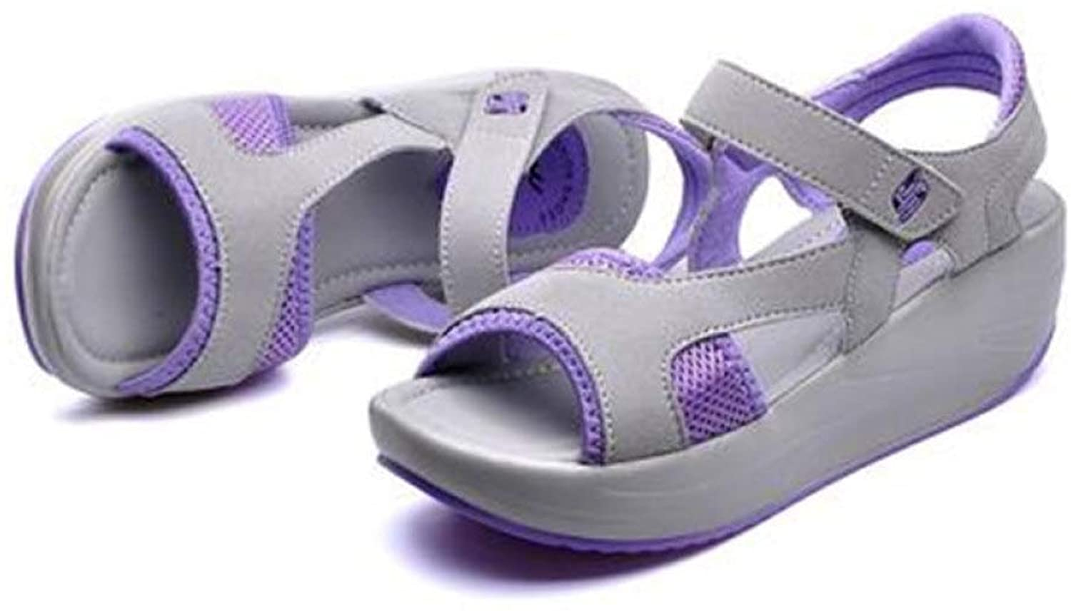 Women's Platform Mesh Sandals Casual Breathable Ladies Wedges Fashion Summer Peep Toed shoes