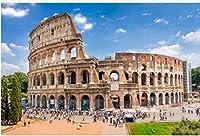 Aixmuy 成人教育用クラシックパズルのためのイタリアローマの1000ピースコロッセオの成人向けジグソーパズル