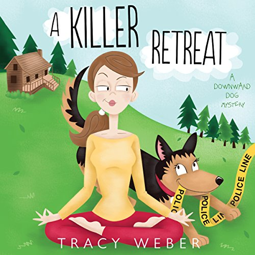 Page de couverture de A Killer Retreat: A Downward Dog Mystery #2