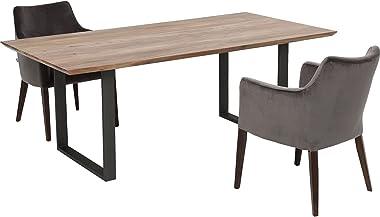 Kare Design Table Symphony Acacia Acier 160x80cm