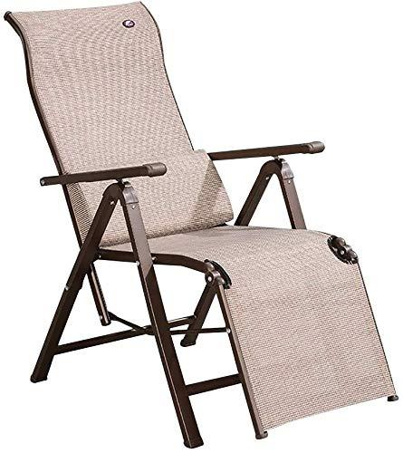 UIZSDIUZ Sun loungers Sun loungers Garden Zero Gravity Chair, Removable Lumbar pillow, with Steel Frame, for Garden Recliner
