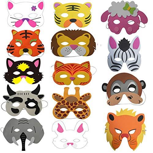 Fiesta Máscaras para Niños, 14 Hermosas y Lindas Máscaras