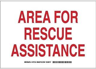 Brady 127124 Fire Safety Sign, Legend