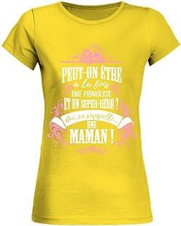 teezily T-Shirt Je suis Une Tata Parfaite comme Une Tata Normale mais Carrement Plus Cool Femme