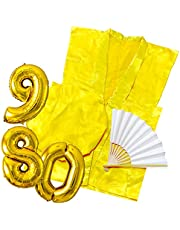 YOU+ 長寿 祝い ちゃんちゃんこ 3点セット+バルーン付 高級生地 鶴亀模様 還暦 古希 喜寿 傘寿 祝い