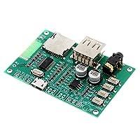 BT201デュアルモード5.0 Bluetoothのロスレスオーディオ・パワーアンプボードモジュールTFカードUディスクブレSppをシリアルポート透明10個入り