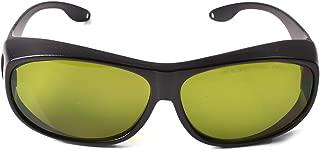 190nm-450nm / 800nm-1700nm Wavelength Professional Laser Safety Glasses for 405nm, 450nm, 980nm,1064nm,1070nm, 1080nm,1100nm Laser (Style 4)