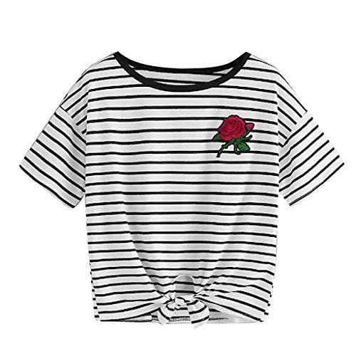 Damen Boho Bustier Crop Top Weste BH Chic Brief Drucken Halfter Backless Tank T-Shirt Reizvolle Schulterfrei Trägerlos V-Ausschnitt Unterhemd Slim Fit Weste