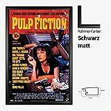 Kunstdruck Poster - Pulp Fiction Uma Thurman Samuel L