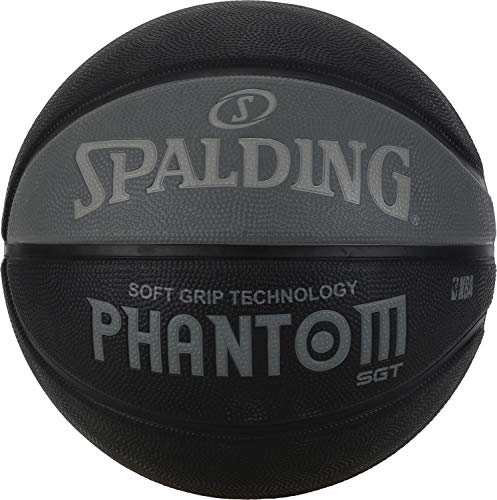 Spalding NBA Phantom Street Basketall schwarz/Anthra