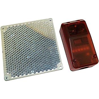 Par de fotocélulas universales orientables 180° - Alimentación 12-24 V ac-dc - fotocélula universal de exterior, aplicación en pared - Adaptables a cualquier sistema de automatización de puerta: Amazon.es: Bricolaje y herramientas