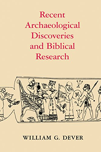 Recent archaeological discoveries and biblical research (Samuel and Althea Stroum lectures in Jewish studies)