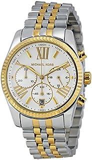 ساعة كاجوال انالوج بسوار من الستانلس ستيل للنساء من مايكل كورس - MK5955