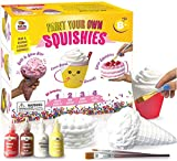 Arts and Crafts for Girls. DIY Dessert Paint Your Own Squishies Kit! Gifts for Craft Lovers Ages 4 6 7 8 9 10 Top Christmas Toys. Box Includes Large Slow Rise Squishies, and Fabric Paint Colors
