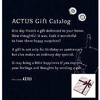 ACTUS(アクタス) ギフトカタログ Edition M_B コース (包装済み/ノキアブラウン)|お中元 出産内祝い 結婚祝い