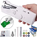 TTMOW Mini Handheld Stitch Portable Fabric Curtains Cordless Craft Sewing Machine for Home