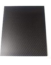 200X250mm 3K Fibra de Carbono Tablero de Fibra de Carbono Placa de Tejido de sarga Mate Panel Hoja 0.5-5mm Espesor (2mm)