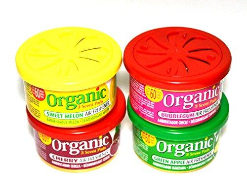 L&D Organic Scent Pad Duftdose 4-er Pack MIX 1