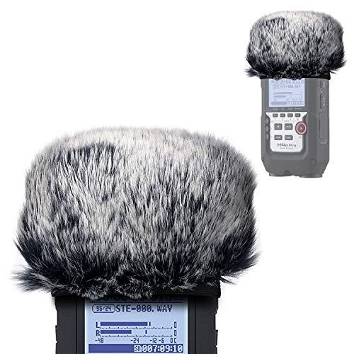 YOUSHARES Fell-Windschutz - Draussen Windschutz Muff Popschutz für Zoom H4N Pro