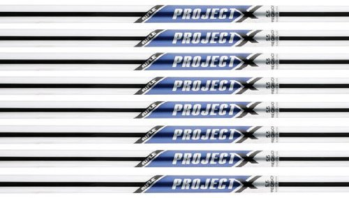 Project X Rifle 6.5 Flighted 4-PW Steel Iron Shafts .355 Taper Tip - Set of 7 Shafts
