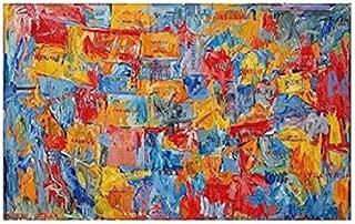 Map - Poster by Jasper Johns (14 x 11)