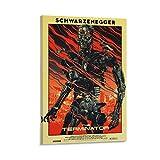 caonidaye The Terminator (1984) Vintage-Filmposter,