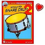 Schule für Snare Drum (Kleine Trommel) - Band 2 -...