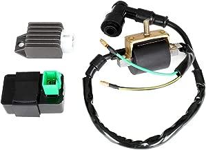 ECCPP Voltage Regulator Rectifier Fit for ATV Dirt Bike Go Kart 50cc 70cc 90cc 110cc 125cc Rectifier Regulator
