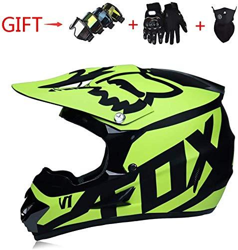 WLC Store Haftes Grün, Schwarz, Muster Erwachsene Fahrradhelm REIT Elektro-Auto-Motorrad-Sturzhelm-Fahrrad-Gebirgsfahrradhelm Außenreitausrüstung Effective (Size : XL)