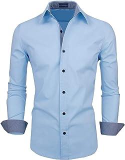 Zombom Men's Regular Fit Casual Shirt