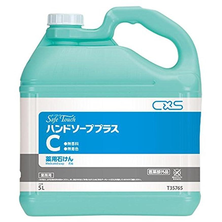 謎めいたパステル渇きシーバイエス(C×S) 手洗い用石鹸 セーフタッチハンドソーププラスC 5L