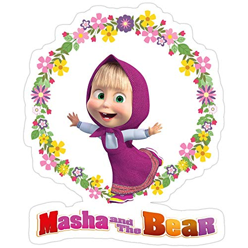 BreathNenStore Masha and The Bear masha and The Bear Stickers (3 Pcs/Pack) 8884365271976