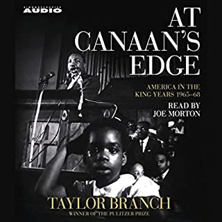At Canaan's Edge audiobook cover art