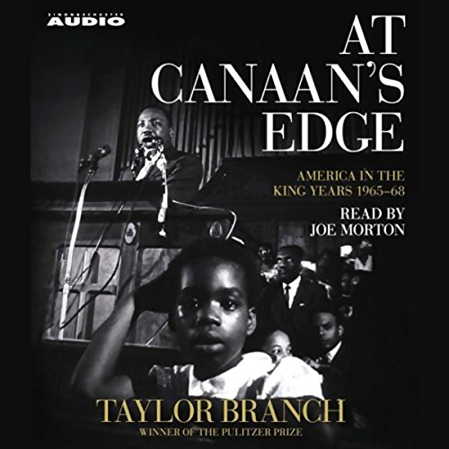 At Canaan's Edge Audiobook By Taylor Branch cover art