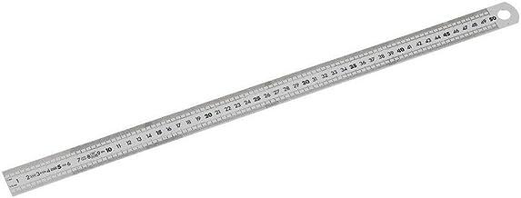FACOM Dela.1056.300 serie Dela.1056 roestvrij staal semi-stijve korte liniaal, 2 zijden, 300 mm lengte