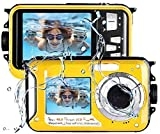 Underwater Camera Camcorder FULL HD 2.7K for Snorkeling 48.0 MP...