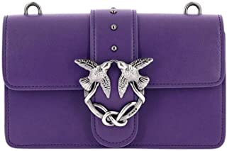 Pinko 品高 女士紫色皮革单肩包 1P210M-Y3YHJ11