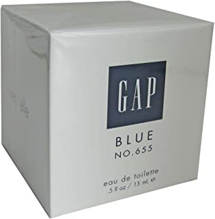 Gap Blue No. 655 Eau de Toilette for Her .5 oz (15ml)