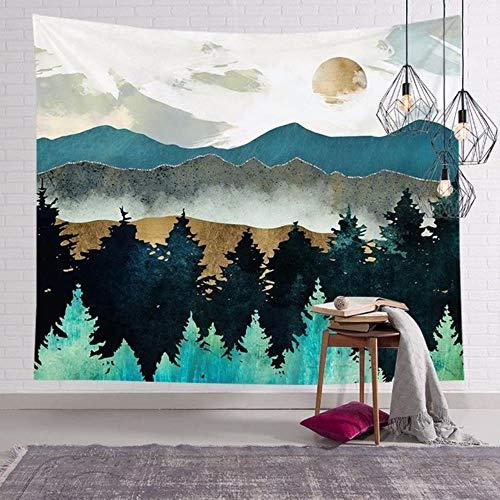 Tapiz de pared de macramé tapiz mural decoración de sala de estar tapiz para colgar tapiz pared hogar bengalas de humo color